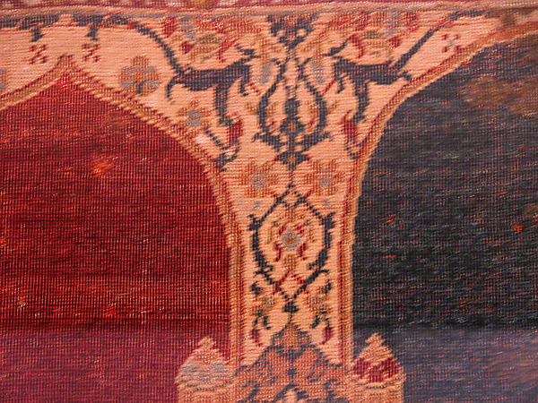 Carpet with Triple-arch Design