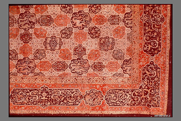 Carpet with a Compartment Design
