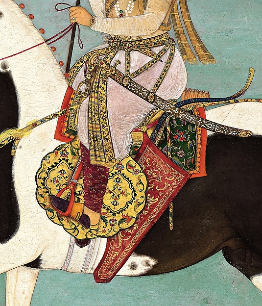"""Shah Jahan on Horseback"", Folio from the Shah Jahan Album"