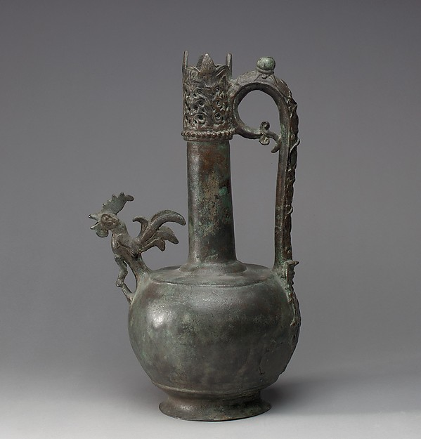 Ewer with a Cock-Shaped Spout
