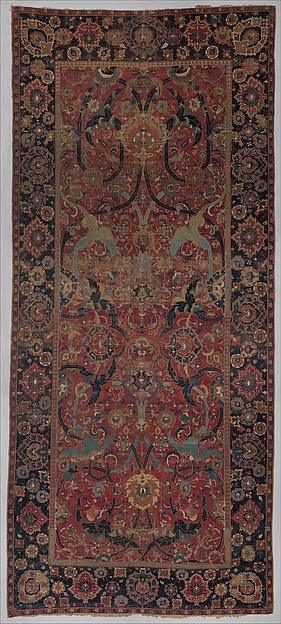 Floral Arabesque Carpet