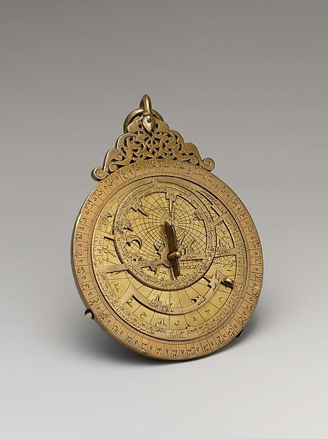 Astrolabe of 'Umar ibn Yusuf ibn 'Umar ibn 'Ali ibn Rasul al-Muzaffari