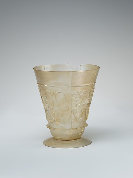 Beaker with Relief-cut Decoration