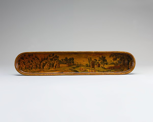 Pen Box with a Europeanizing Landscape