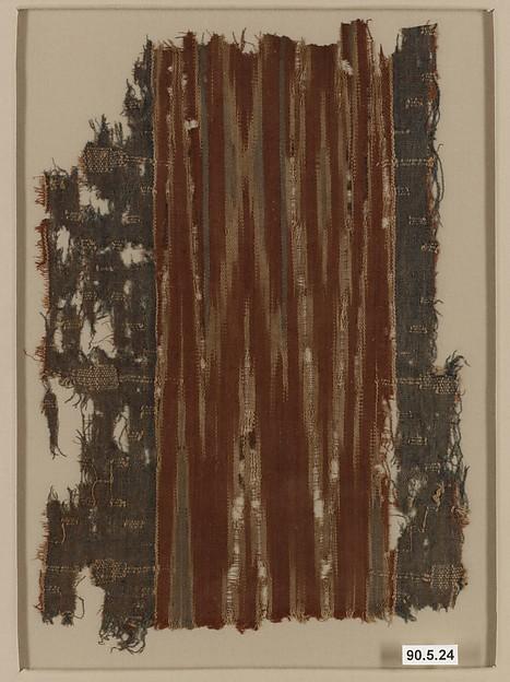 Ikat Textile Fragment