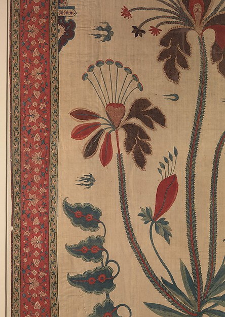 Panel from a Tent Lining (Qanat)
