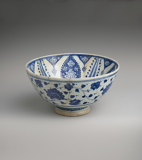 Bowl with Variation of 'Baba Nakkas' Design