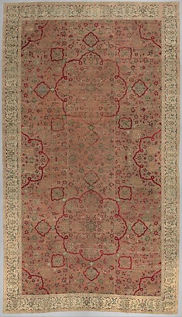 Velvet and Silk Carpet
