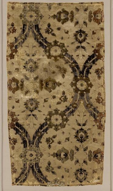 Silk Velvet designed by 'Ghiyath'