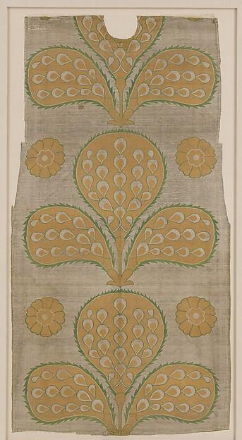 Fragment of a Kaftan Back