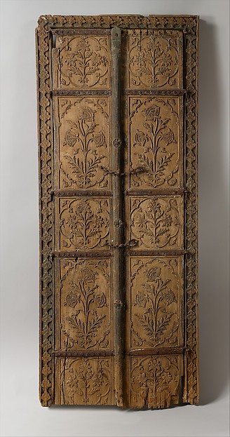 Pair of Flower Style Doors