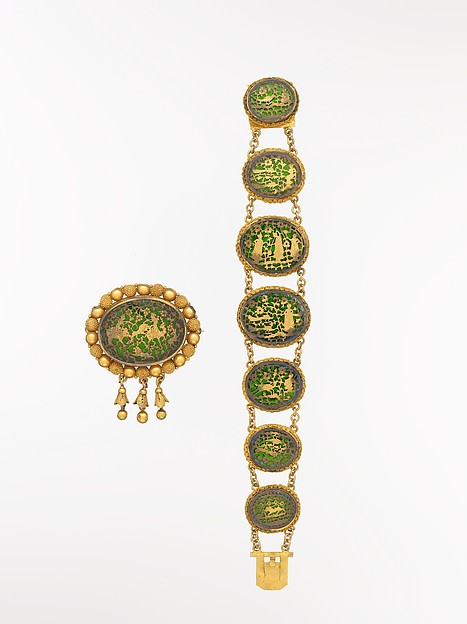 Brooch and Bracelet for the European Market
