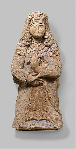 Princely Figure with Winged Crown