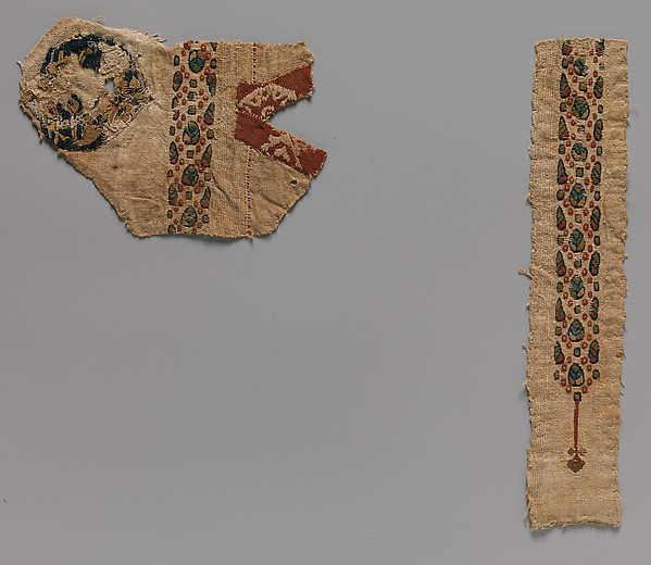 Tunic Fragments with Scattered Design