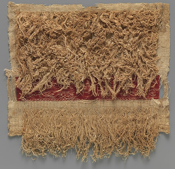 Sleeve Fragment with a Band Decorated with an Animal