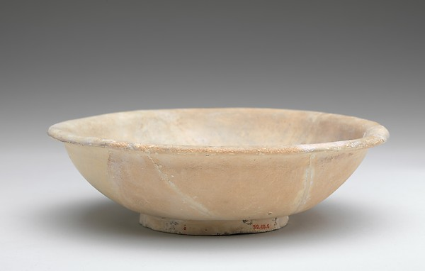 Imported Cobalt-on-White Bowl