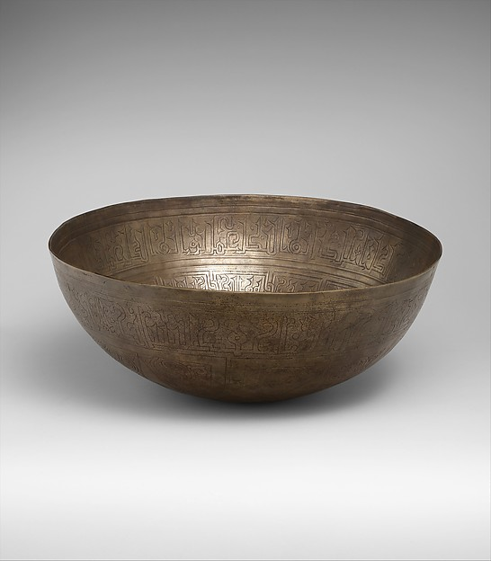 Two high-tin bronze bowls