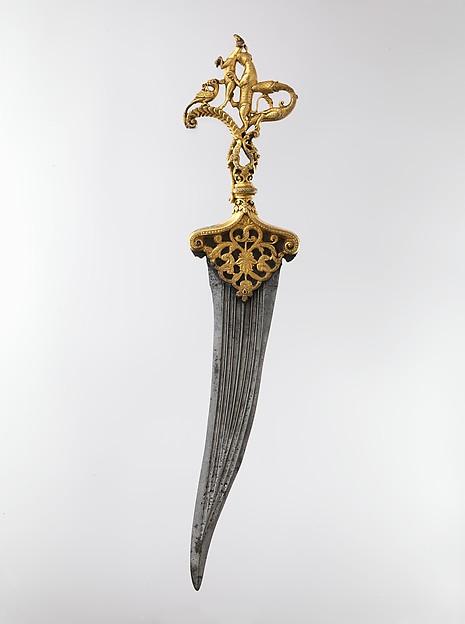 Dagger with Zoomorphic Hilt
