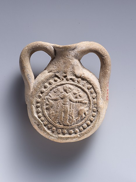 Ampulla (Flask) with Saint Menas