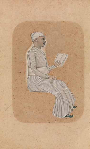 A Nobleman Reading