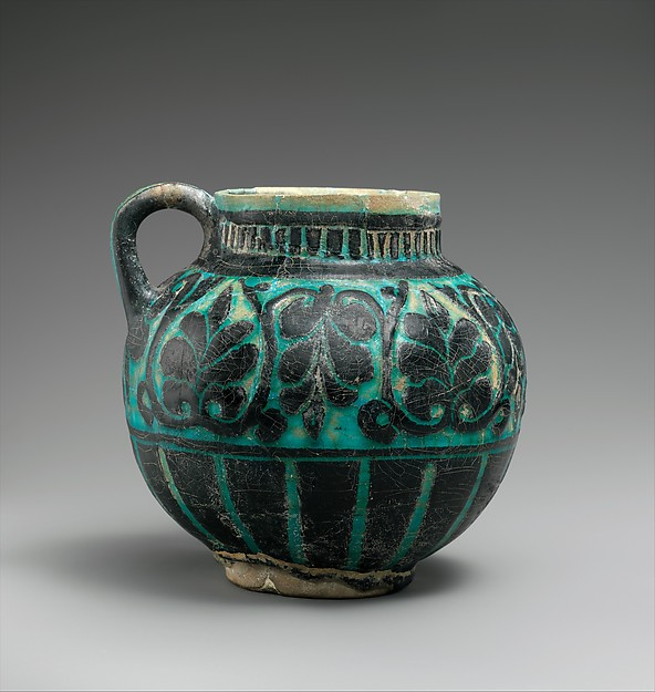 Cup with Floral Decoration