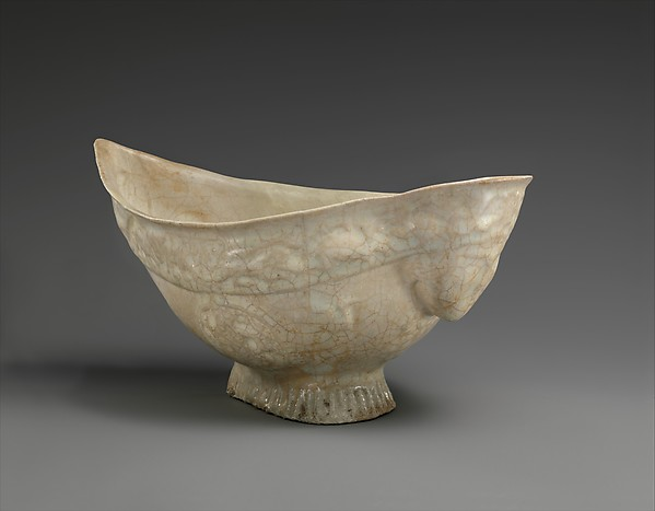 Harpy-Shaped Bowl