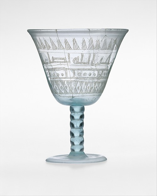 Goblet with Incised Designs