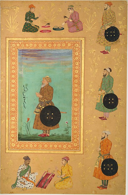 Portrait of Islam Khan Mashhadi