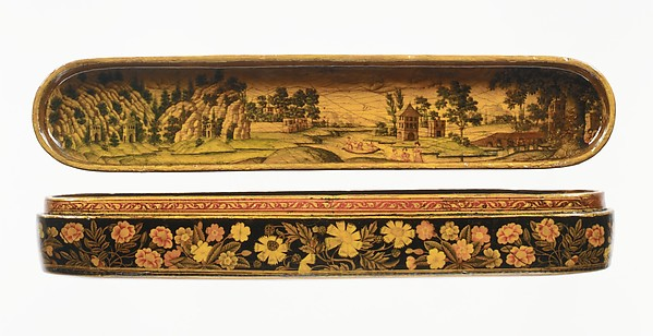 Pen Box with a Europeanizing Landscape