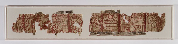 Fragmentary Band with Scenes from the Infancy of Christ