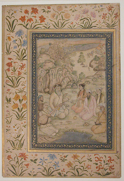Jahangir Visiting a Holy Man