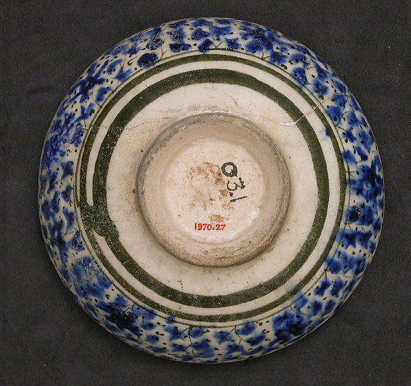 Bowl with Deer and Phoenix Motifs