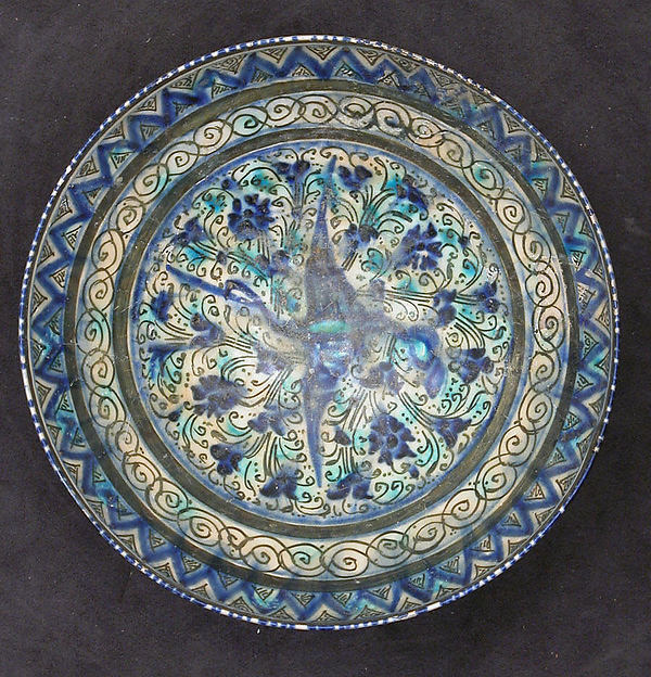 Bowl with Flying Bird Design