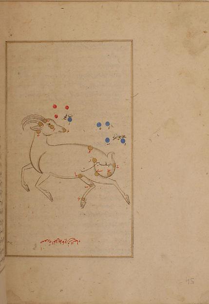 Kitab suwar al-kawakib al-thabita (Book of the Images of the Fixed Stars) of al-Sufi