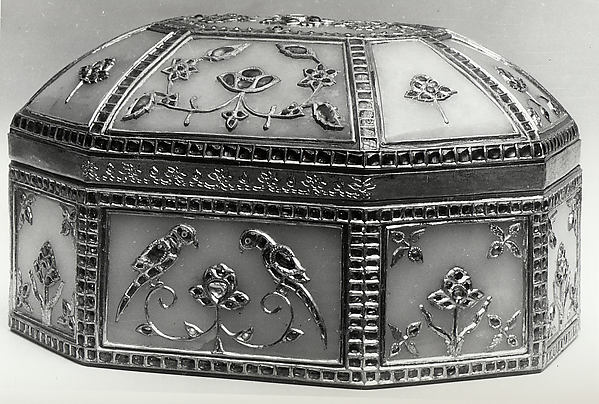 Jeweled Casket with Birds