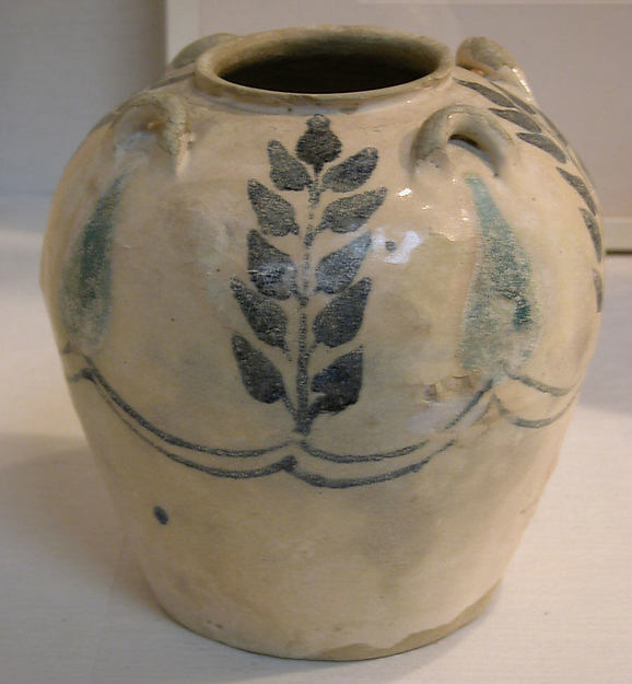 Jar with Four Lug Handles