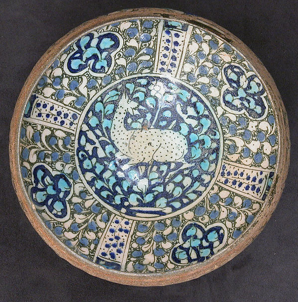 Bowl with Deer Motif
