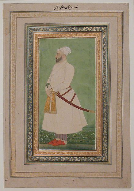 Portrait of Allahwerdi Khan