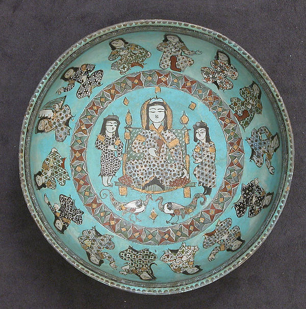 Bowl with a Ruler and Attendants