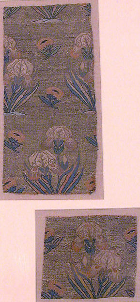 Textile Fragments with Irises