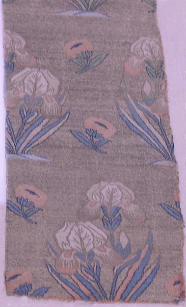 Textile Fragments with Irises