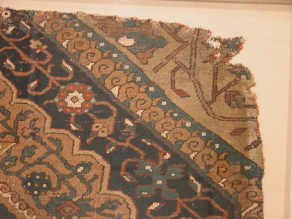Fragment of a Northwest Persian Medallion Carpet