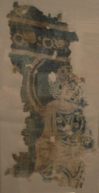 Fragment of a Hanging with Haloed Figure