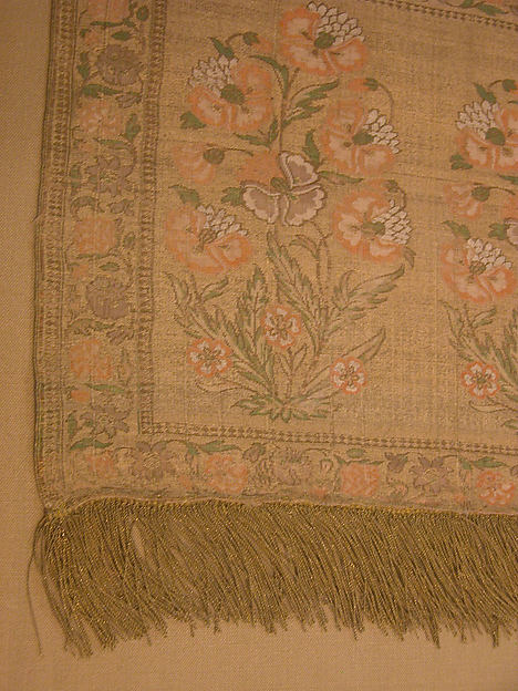 Sash with Flowering Plants