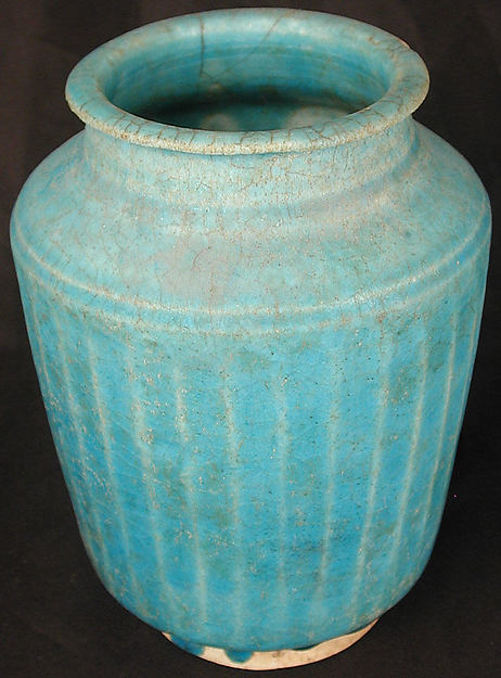 Ribbed Jar