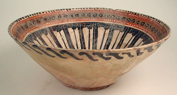 "Two Bowls Inscribed, ""Happiness"""