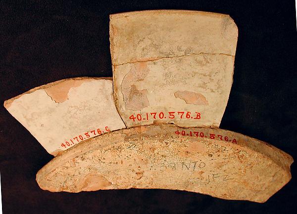 Plate Fragment