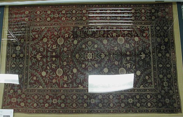 Hanging with a Medallion Carpet Design