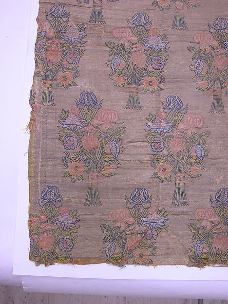 Floral Textile Fragment