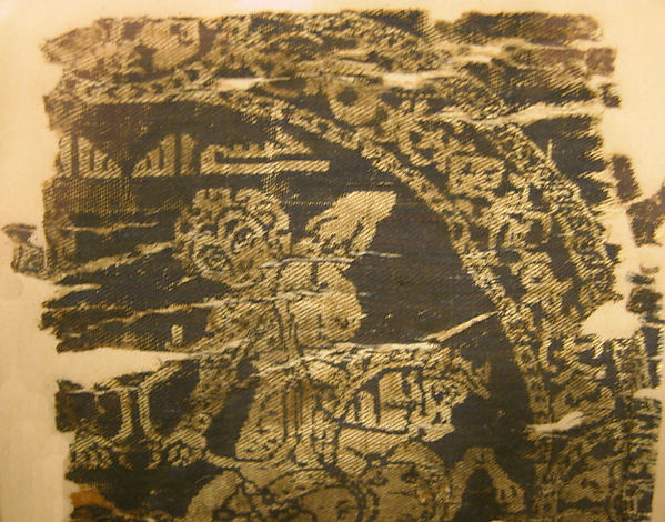 Textile Fragment with Hunting Scene